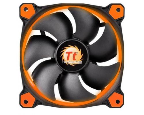 Вентилятор Thermaltake, Riing 12 LED Orange (CL-F038-PL12OR-A), 120мм, 1000-1500 об.мин, 3pin+LNCabl