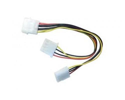 Кабель - Раздвоитель питания 1Molex to 2 (Cable Dual power conector)