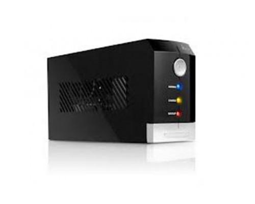 ИБП SVC, V-500-F, 500VA/300W, AVR стабилизатор:165-270VAC, 12V/4.5Ah, 3 вых.: 2 системных + 1 для пр