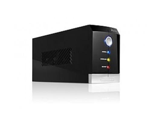 ИБП SVC, V-650-F, 650VA, 400W, AVR стабилизатор:165-270VAC, 12V, 9Ah, 3 вых.: 2 системных + 1 для прин