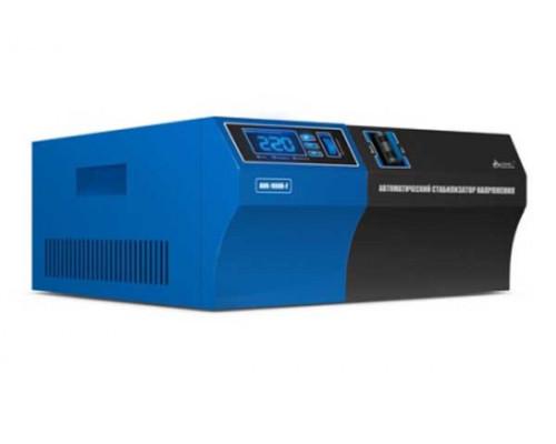 Стабилизатор SVC, AVR-1000-F, 1000Вт, LED дисплей, Диапазон работы AVR :140-280VAC, 2вых, Черно-сини