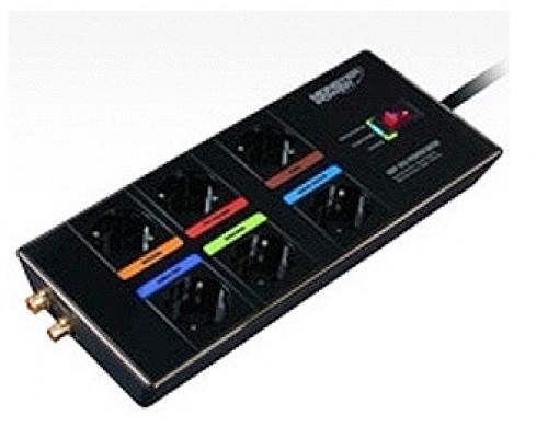 Сетевой фильтр MONSTER, MONSTER High Definition HDP 450 PowerCenter, 6 розеток, интерфейс коаксиальн