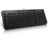 Клавиатура Delux, DLK -02UB, USB, Мультимедийная, Анг, Рус, Каз, Черный