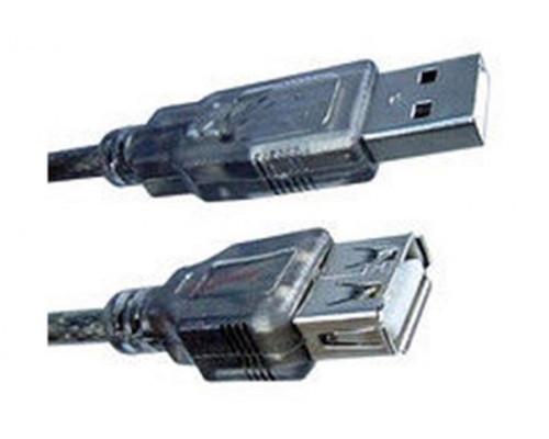 Кабель USB Удлинитель AM-AF, 1.5 м. Monster Cable, Hi-Speed USB 2.0, Ферритовые кольца защиты, Чёрны