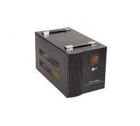 Стабилизатор ЭРА, STA-8000, AVR 8000VА, Индикация режимов работы, Диапазон:170-277VAC, 4 в, Черный