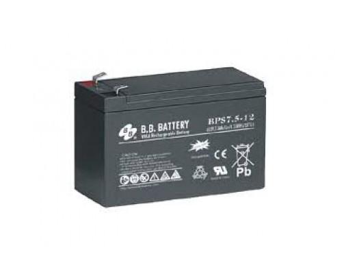 Аккумулятор для ИБП UPS SVC 12V, 7.5Ah, NP 7.5-12, size mm.: 94*151*65
