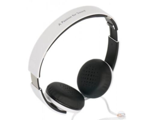 Наушники Edifier, H750, mini jack 3.5 mm, Мониторные, 1.2 м, Белый