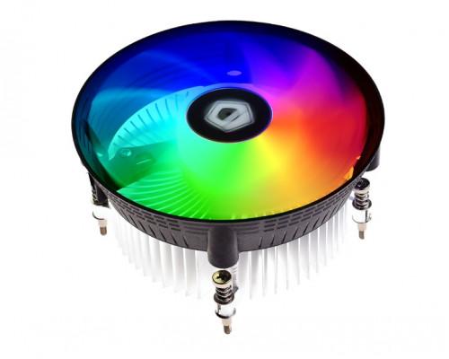 Теплоотвод ID-Cooling, DK-03А RGB  AMD AM4, AM3+, AM3, FM2+, FM2, FM1, Алюминиевый Радиатор, Габариты: 12
