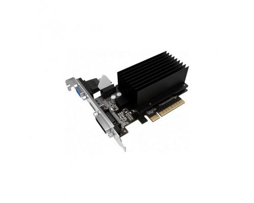 Видео карта PALIT, Nvidia GeForce GT730, 2 Gb, 64 bit, DDR3, DVI, HDMI, VGA, BOX