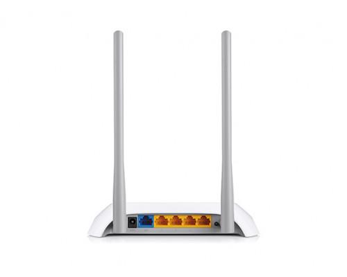 Точка доступа TP-Link, TL-WR840N, 300 Мбит, с, Ethernet RJ45, Wi-Fi, частота 2.4ГГц, WEP, WPA, WPA2, 4