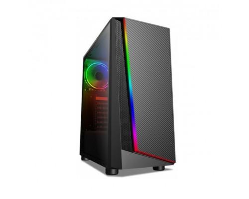 Корпус X-Game, Megatron, Panel USB3.0*1, 2.0*2, audio, mic, без Б, П , mATX, ATX, 482x234x448 mm, Черный