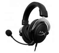 Наушники Kingston HyperX CloudX, HHSC2-CG-SL, G, Микрофон поворотный гибкий, Динамики 53 мм, 15-25000