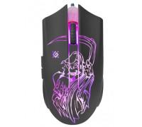 Мышь Defender, Ghost GM-190L, 3200 dpi, USB, Оптическая, черный