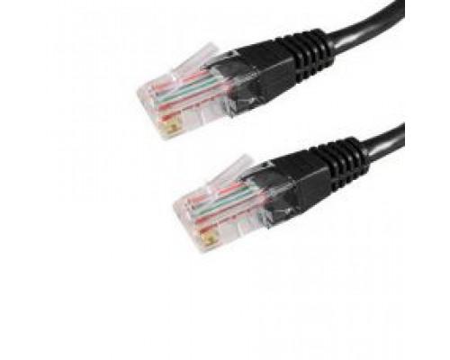 Кабель сетевой Патч Корд, A&P, APP001BK2, Cat.5e, UTP, RJ-45, 2 м, Чёрный, Пол. пакет