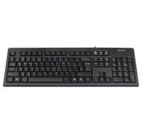 Клавиатура A4 Tech, KR-83, USB, Анг/Рус/Каз, Черный