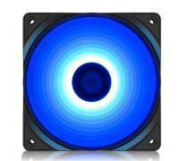 Вентилятор Deepcool, RF 120B, 120мм LED Blue, Molex, 3pin, Габариты 120х120х25мм, Чёрный